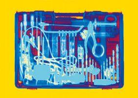 Werkzeugkoffer <br> 1999<br><br> C-Print, 60 x 85 cm