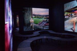 CIUDADANAS<br>Caminamos oscuras <br> <br>Ausstellungsansicht<br>Deutscher Pavillon <br> 24.11.2016 &#8211; 12.02.2017<br><br>vista de la exposición<br> Pabellón Alemán<br>