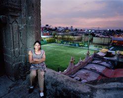 LOURDES   <br> Mexico City 2016 <br><br> C-Print Leuchtkasten<br>  300 x 375 cm<br><br> caja de luz<br> 300 x 375 cm