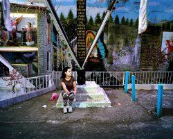 MAYRA II  <br> Mexico City 2016 <br><br> C-Print Leuchtkasten<br>  300 x 375 cm<br><br> caja de luz<br> 300 x 375 cm