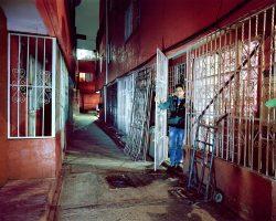 VERÓNICA  <br> Mexico City 2016 <br><br> C-Print Leuchtkasten<br>  300 x 375 cm<br><br> caja de luz<br> 300 x 375 cm