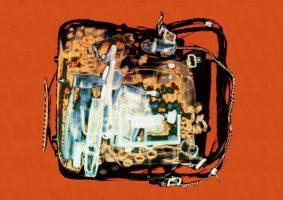 Tasche Rost <br> 1999<br><br> C-Print, 60 x 85 cm