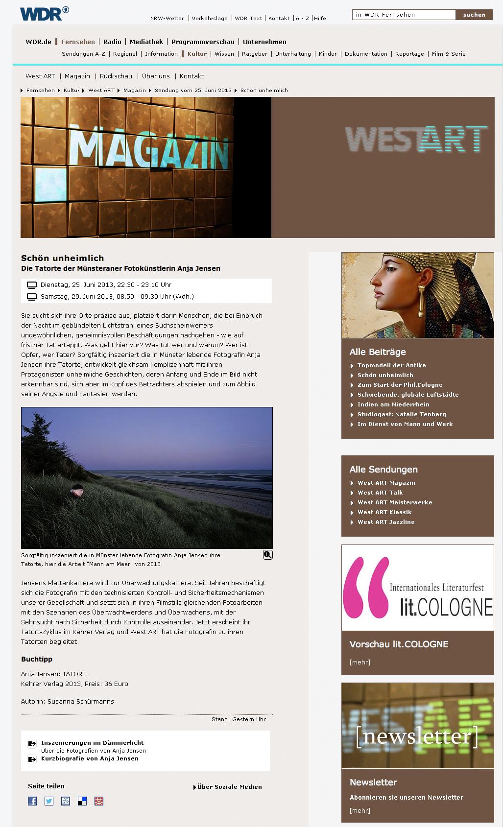 WDR West Art Magazin