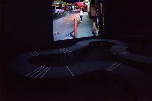 CIUDADANAS<br>Caminamos oscuras <br> <br>Ausstellungsansicht<br>Deutscher Pavillon<br> Mexico City November 2016<br> <br><font color=#808080>  Mira en la exposición<br> Pabellón Alemán<br>  Mexico City 2016<br>