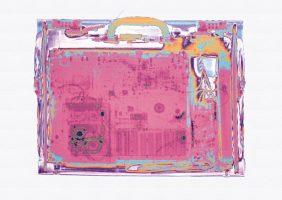 Laptop Magenta <br> 1999<br><br> C-Print, 60 x 85 cm
