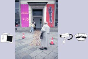 Flaggen <br> 2000<br><br>XX1 Gallery<br>Warschau, 2001